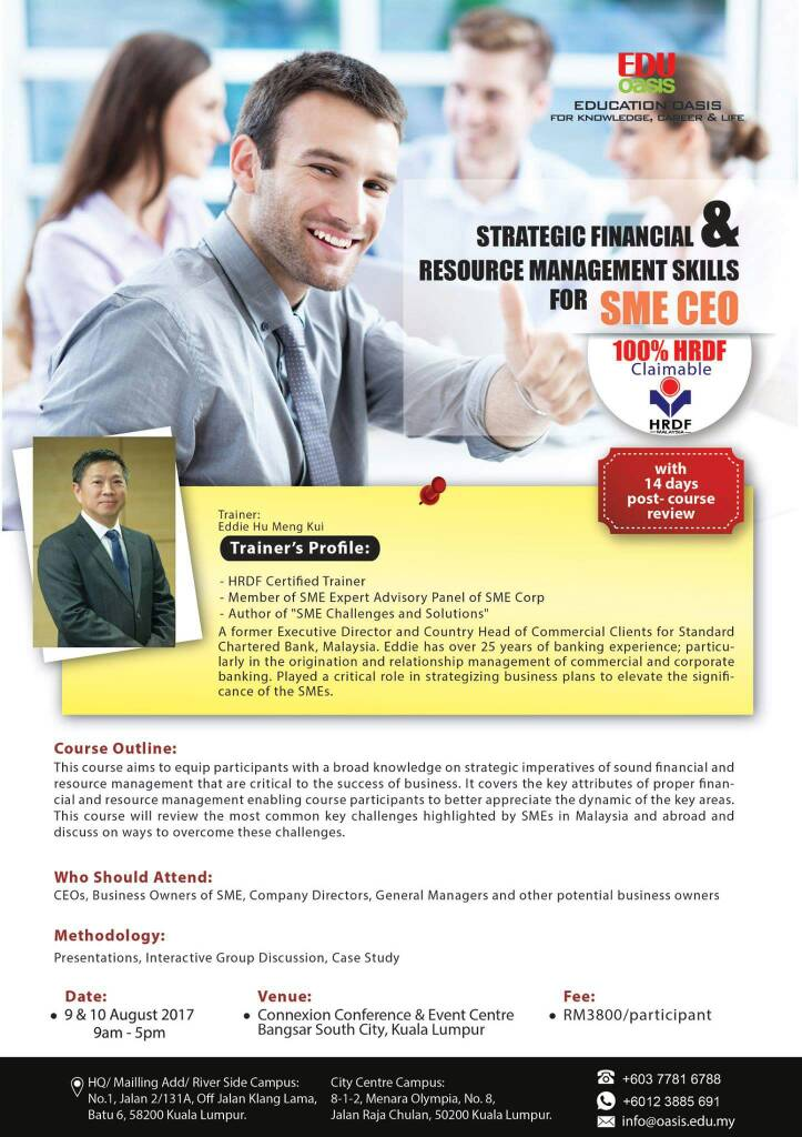 Flyers-Strategic Financial & Resource Management